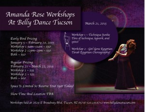 Come join us for some fabulous workshops!